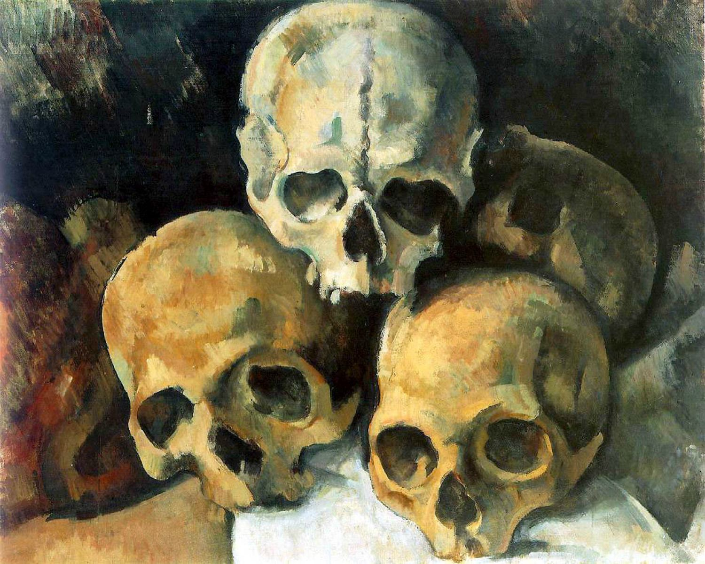 pyramid-of-skulls-paul-cezanne