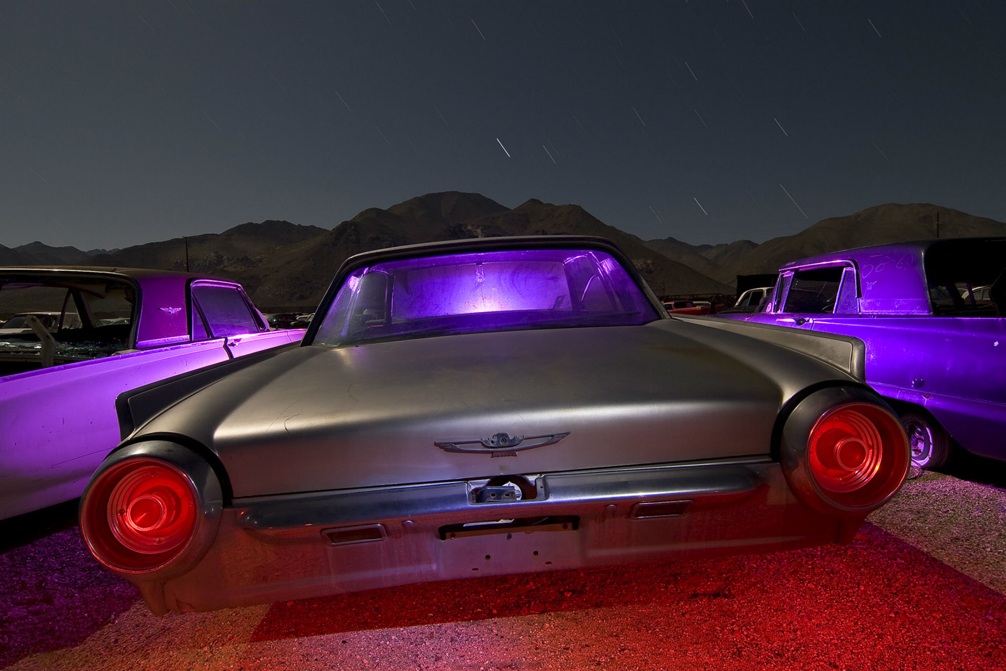 troy paiva night photography car