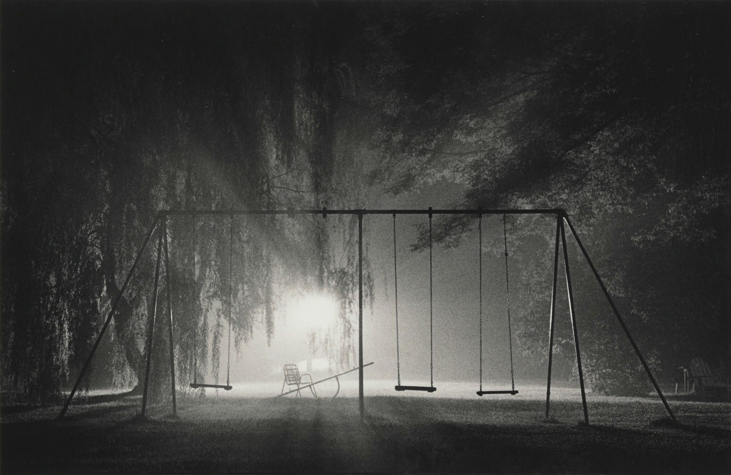 michael kenna night photography park