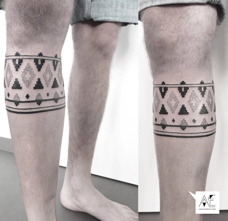 geometric, tribal tattoo, modern