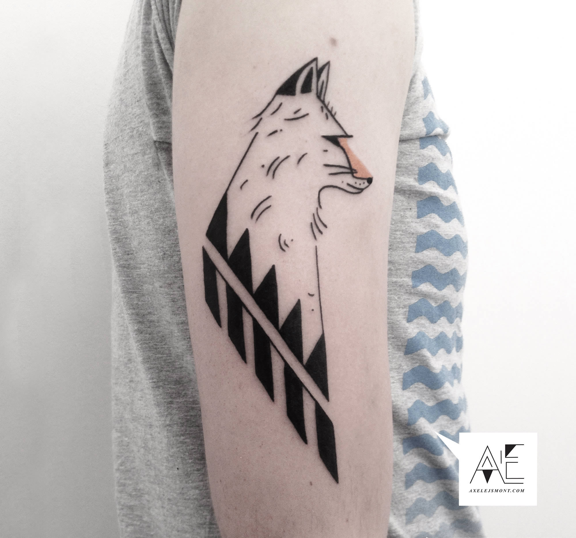 The Beautifully Minimalist Tattoos of Axel Ejsmont