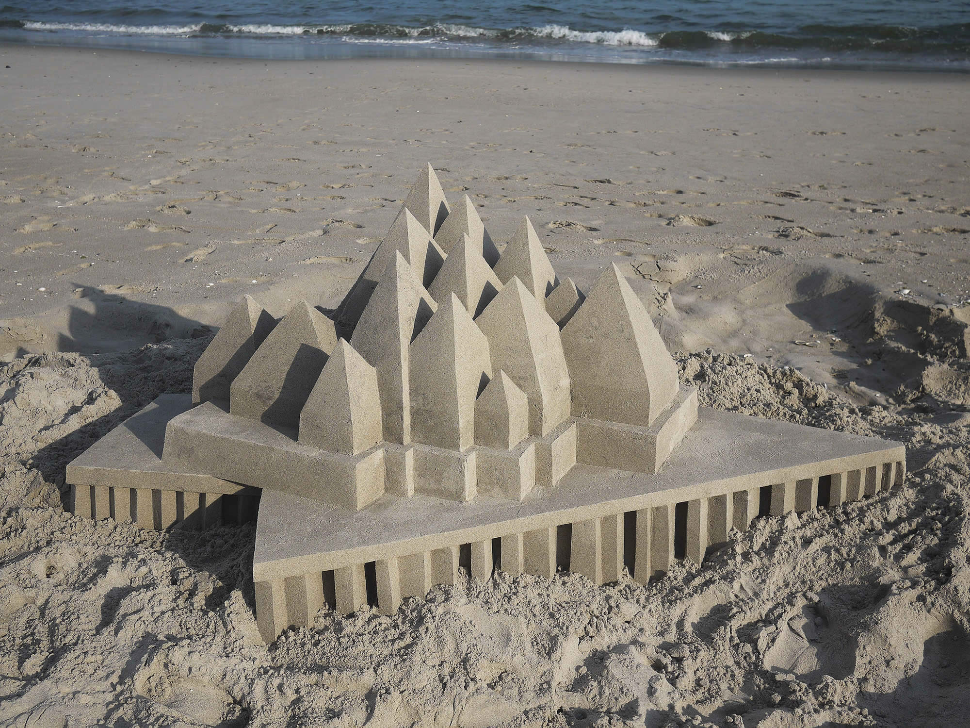 Calvin Seibert's Cathedral and Museum Sand Sculptures