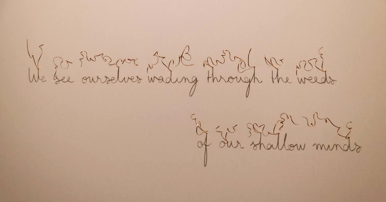 poetry shadow art, fred eerdekens