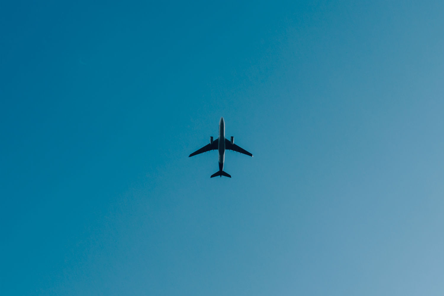 minimalist photography arman bahreini airplane sky blue