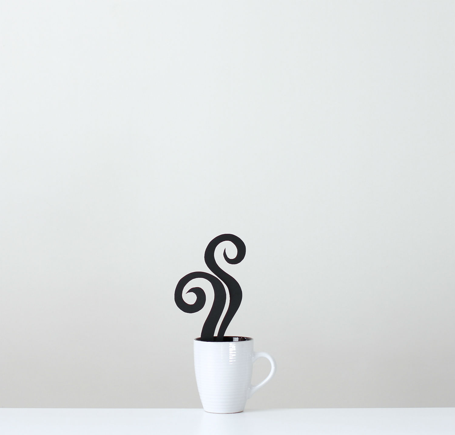 Peechaya Burroughs photography graphic design minimalist objects colour coffee