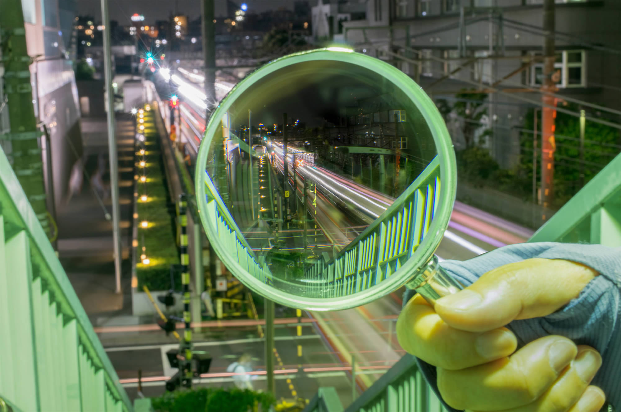 Takashi Kitajima's View of Tokyo Through a Magnifying Glass