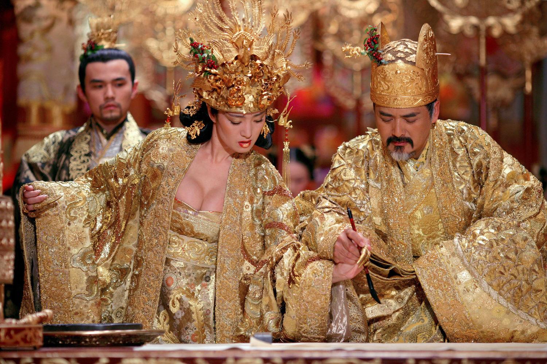 curse of the golden flower still gong li