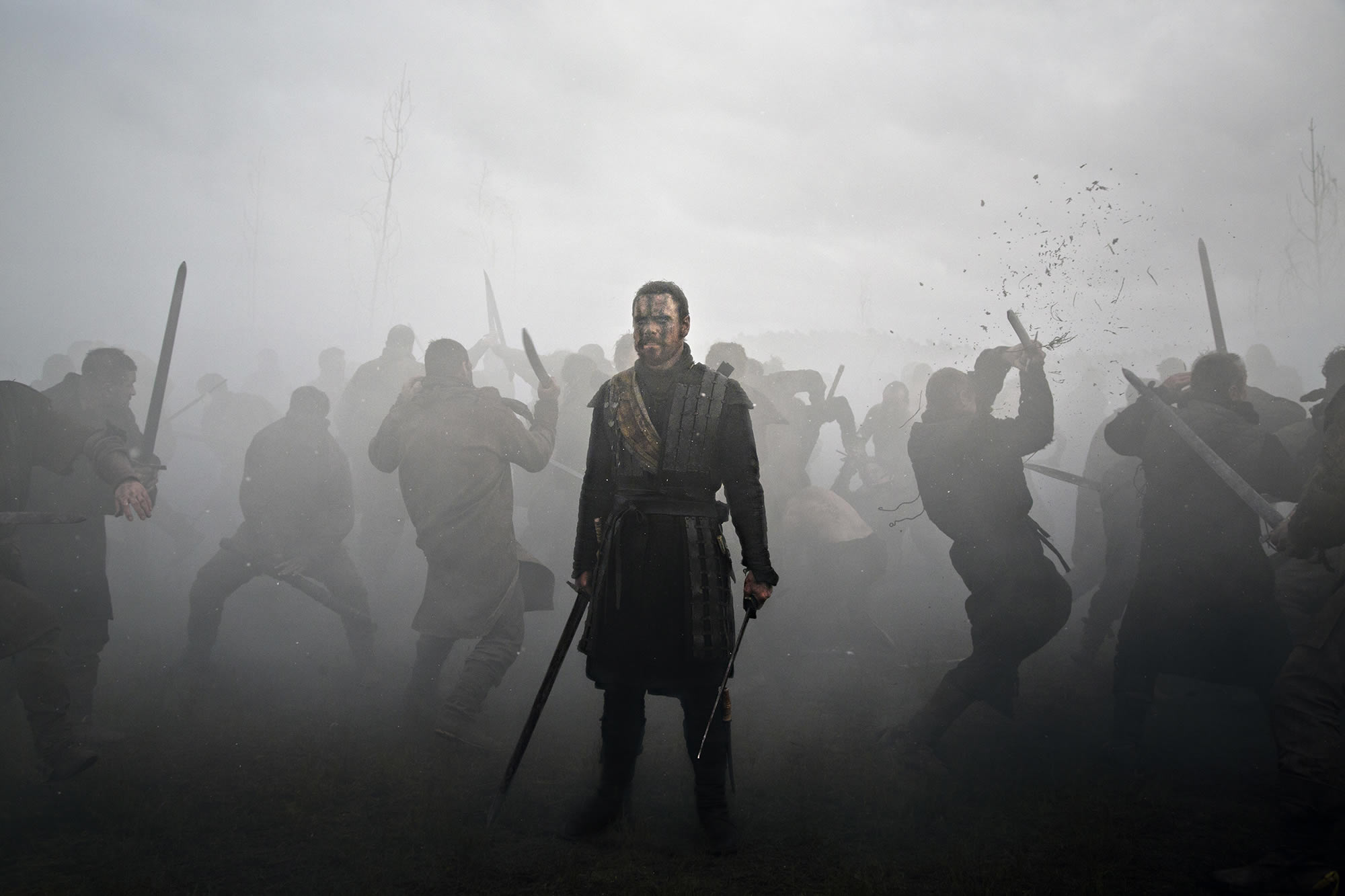 macbeth 2015, smoky photographic scene with soldiers