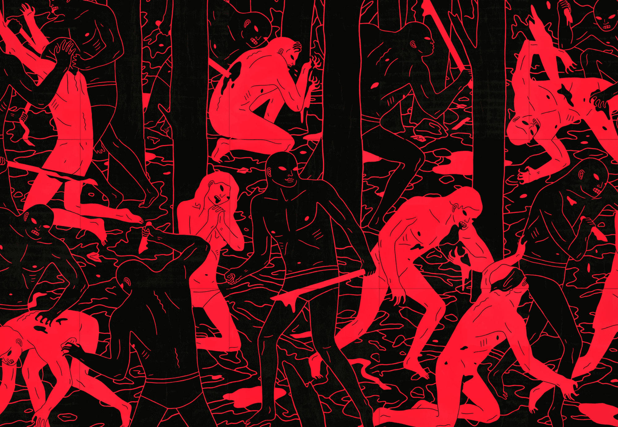 The Profound Suffering of Cleon Peterson's Art