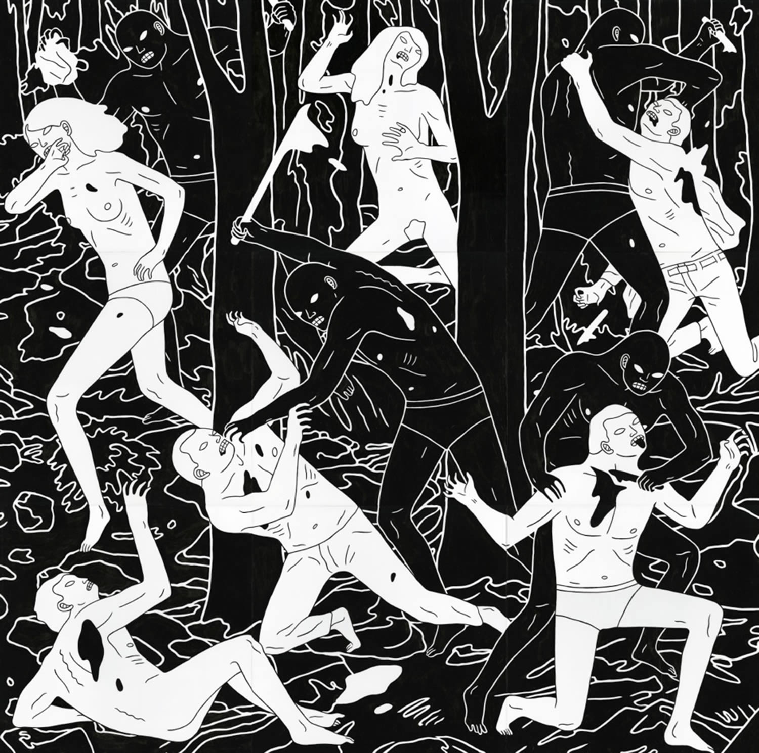black and white, cleon peterson