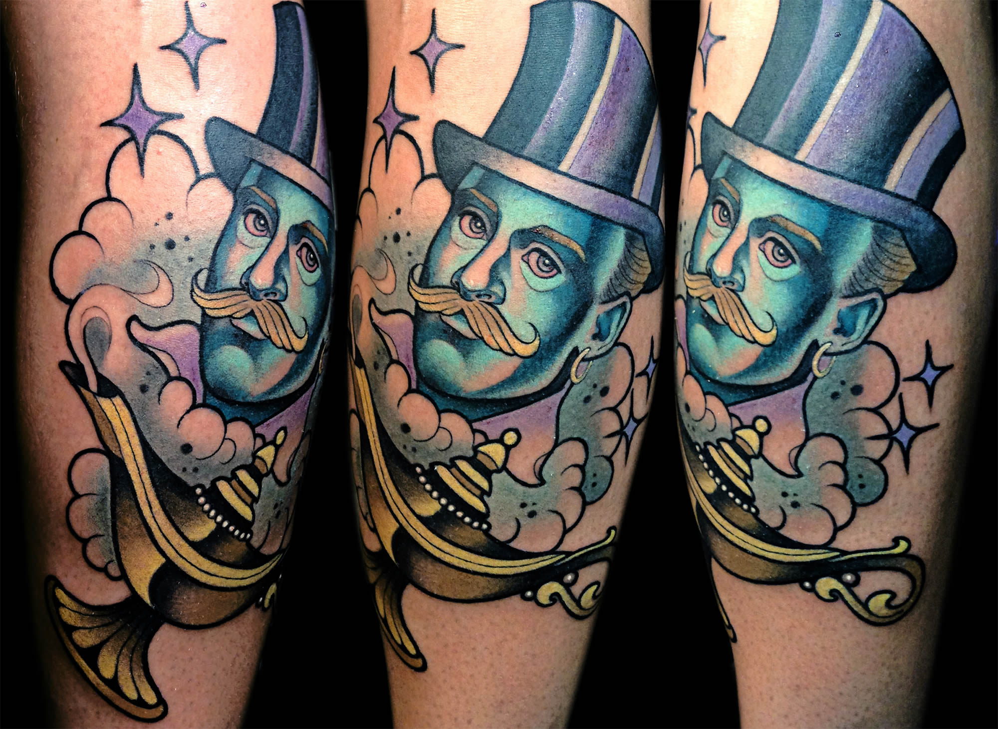 Fanciful Color Tattoos by Myra Brodsky