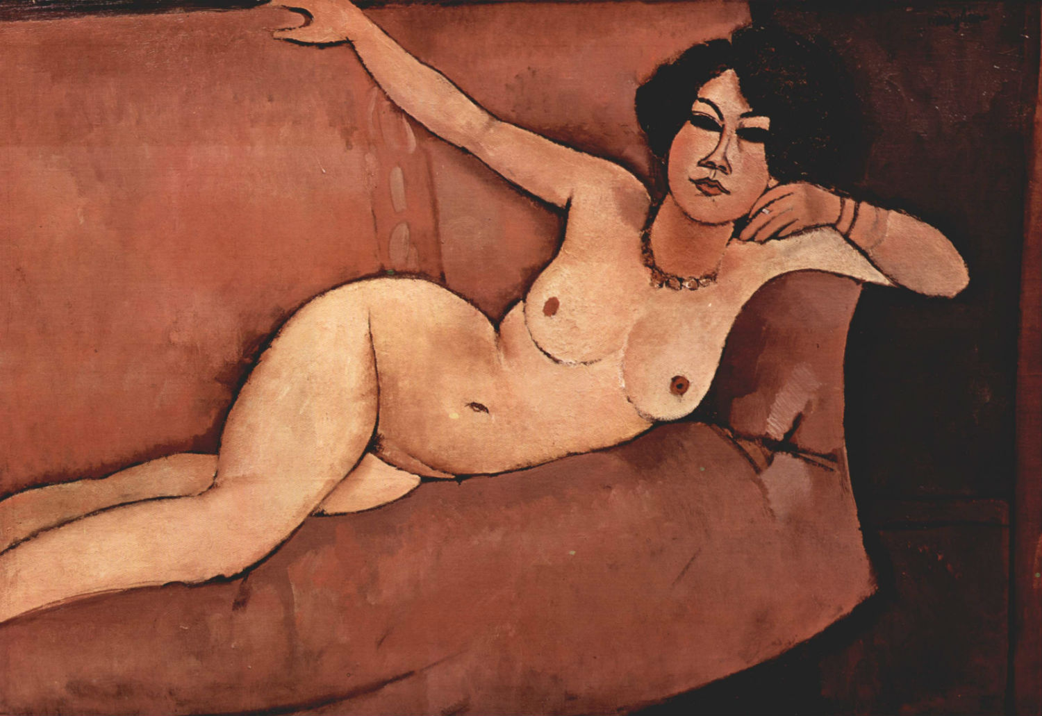 Amedeo Modigliani artist  nude painting woman