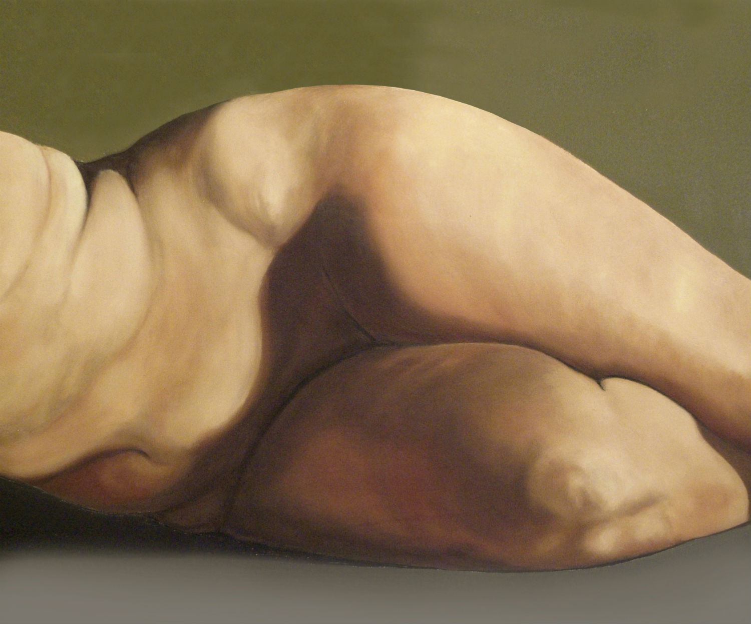 chuck miller nude painting body