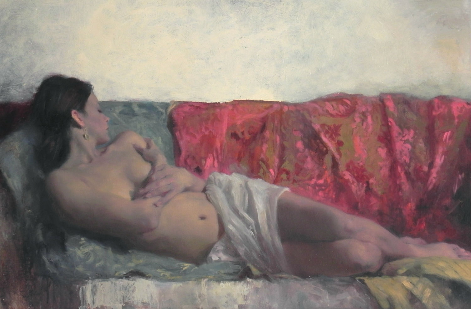 michael alford nude painting