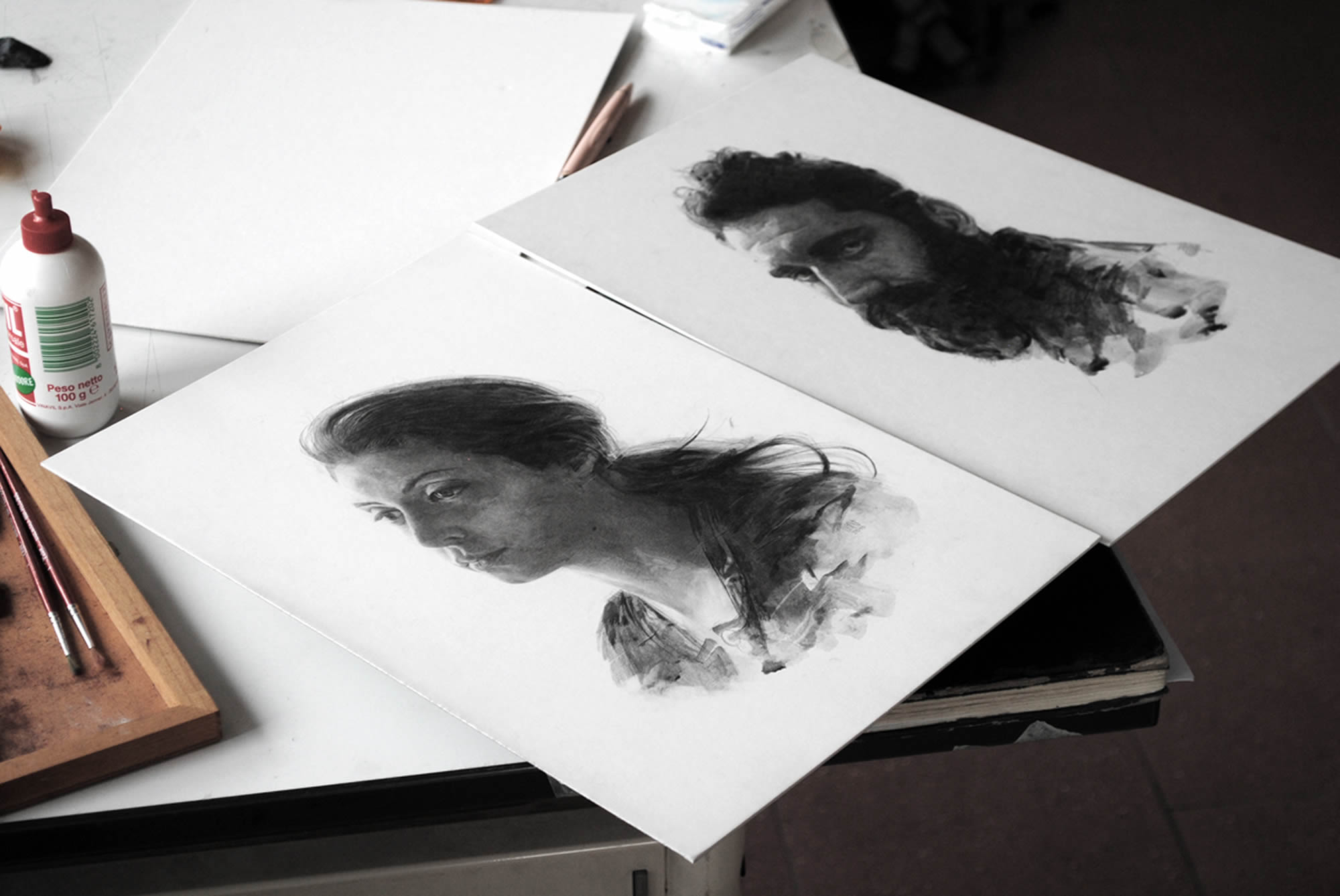 New Graphite Portraits by Thomas Cian