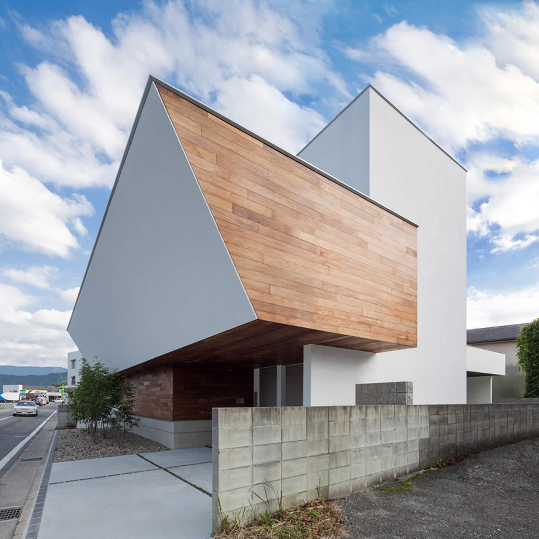 A2-house[shell house] Residence by Masahiko Sato