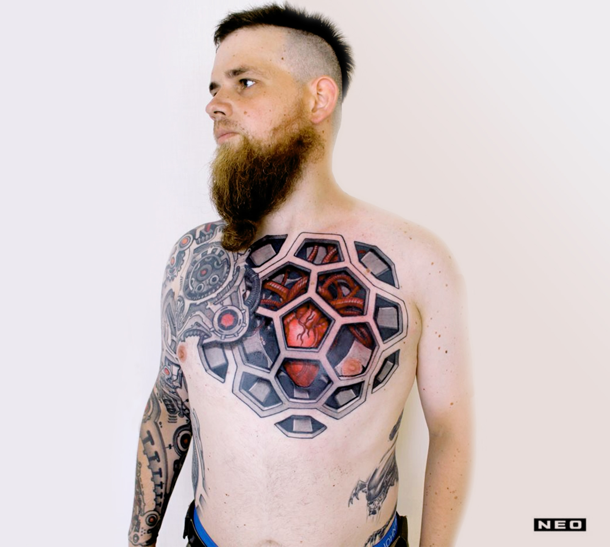 10 Expert Biomechanical Tattoo Artists