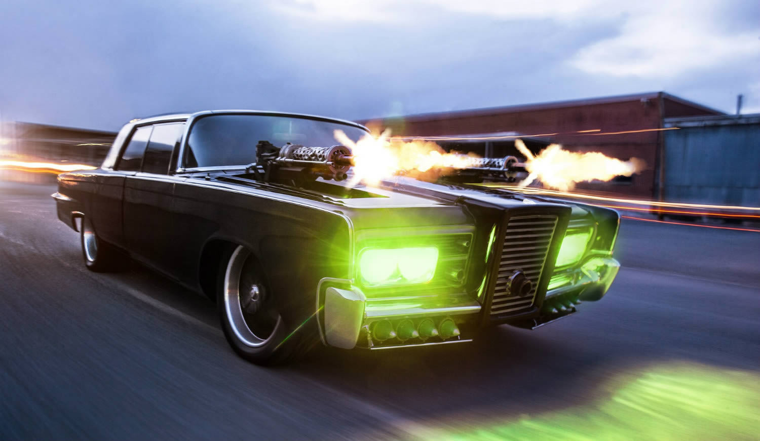Green Hornet – Chrysler Imperial Crown