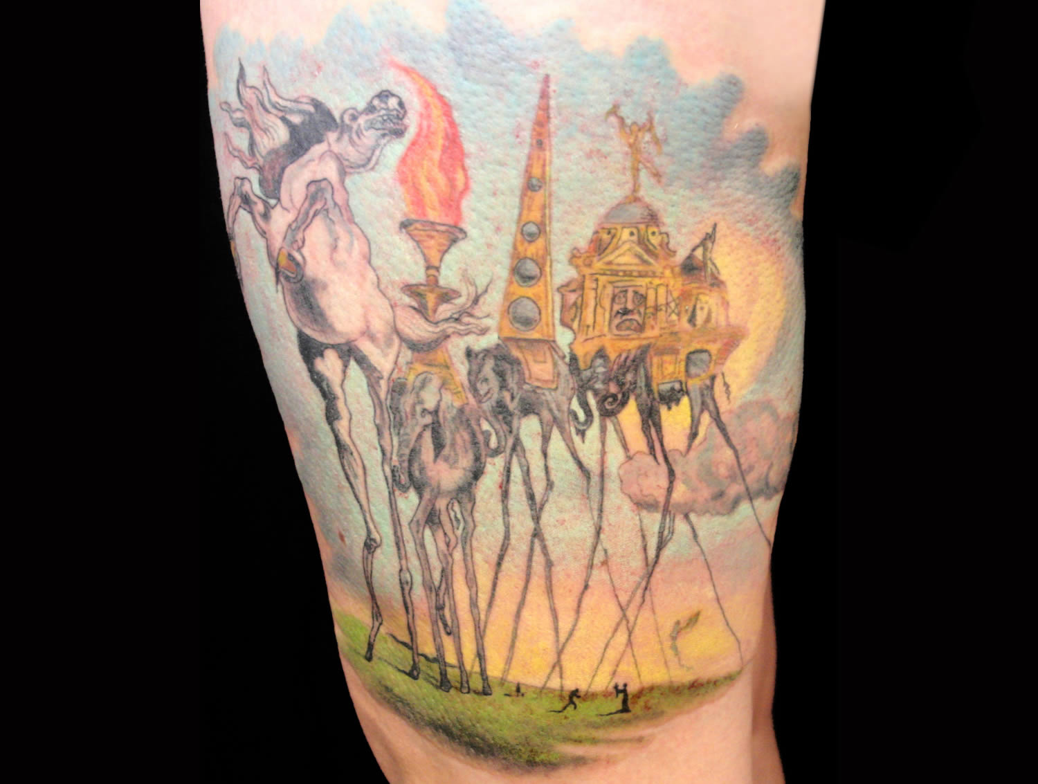 The Temptation of St. Anthony, tattoo by jamie macpherson