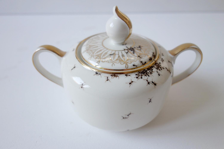 Sugar bowl by Evelyn Bracklow