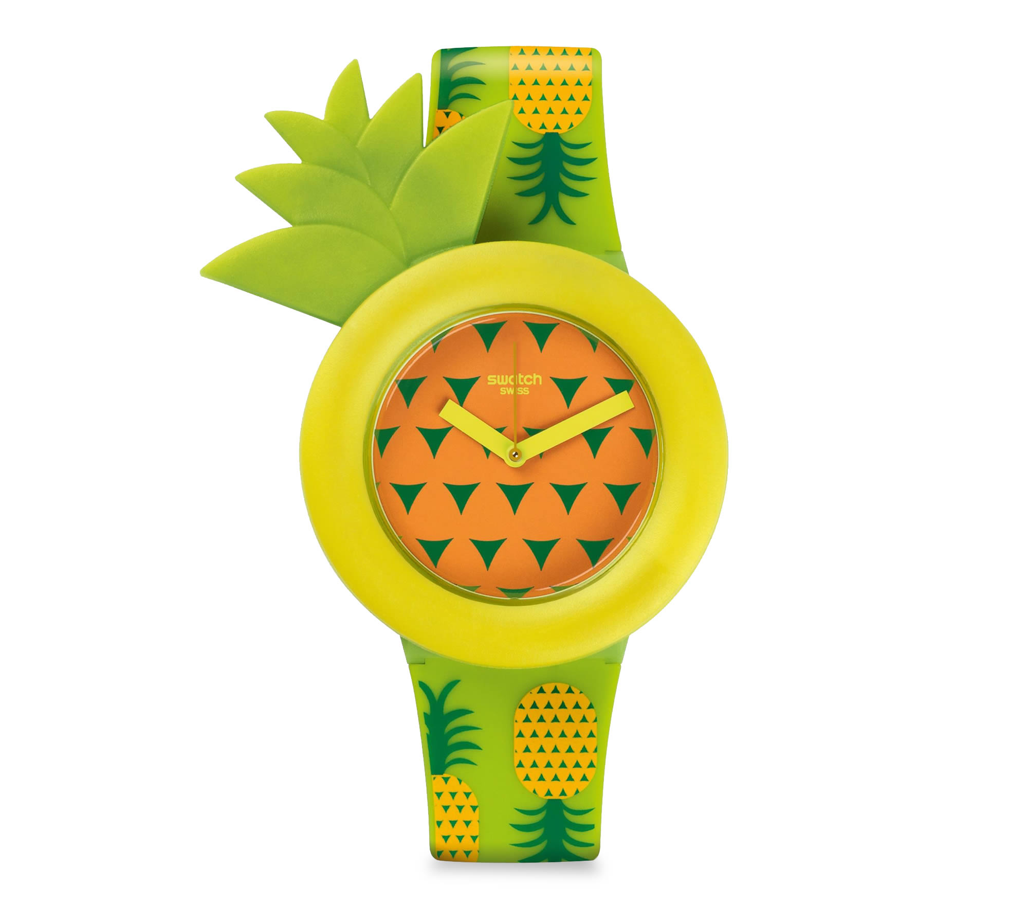 "Swatch Pineapple watch - ""Exotic model"""