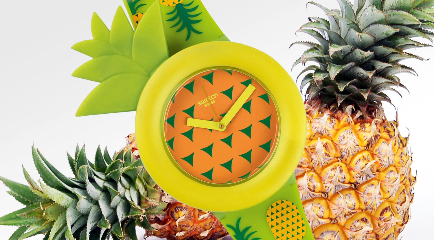 pineapple watch by swatch