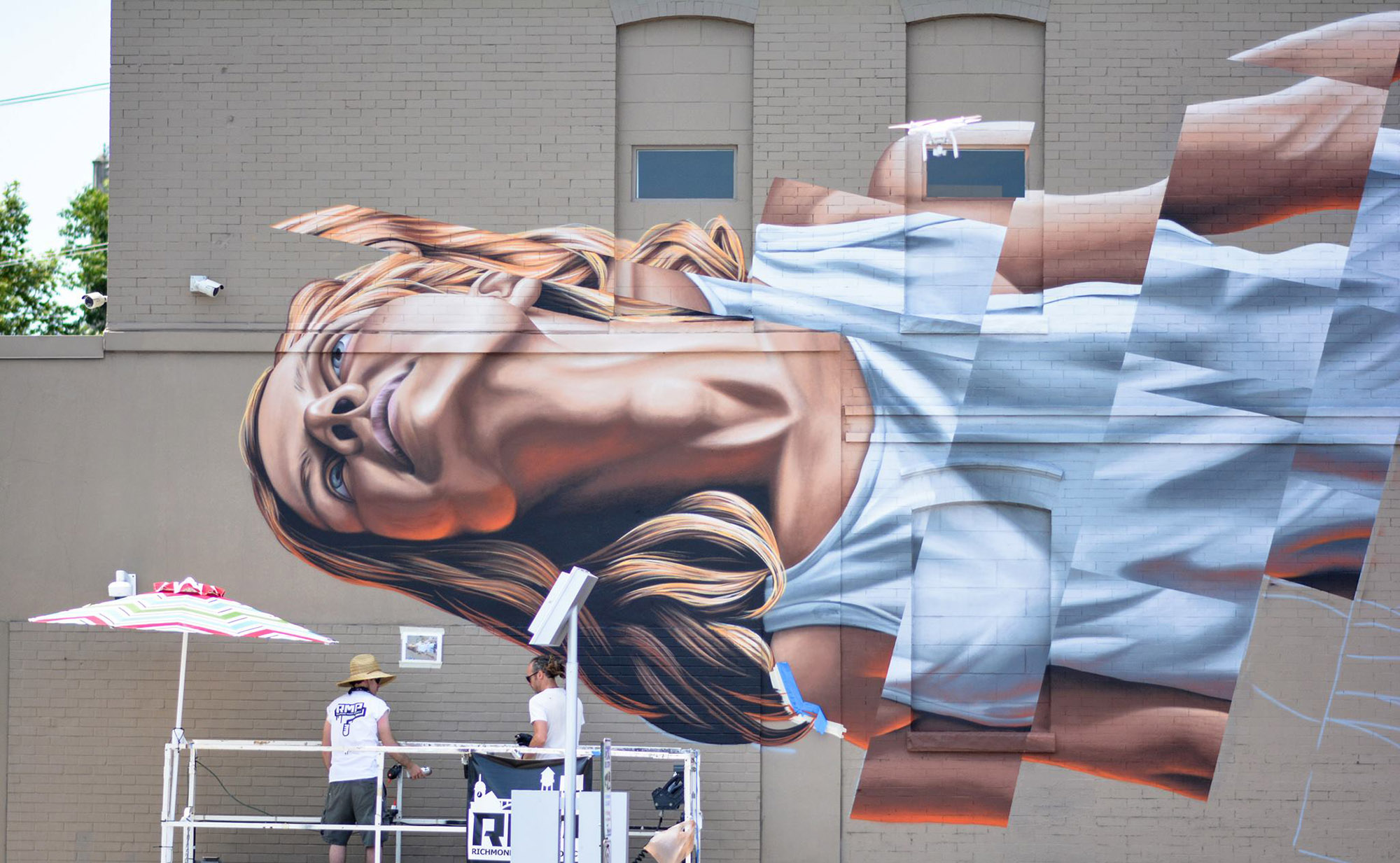 richmond street art by james bullough