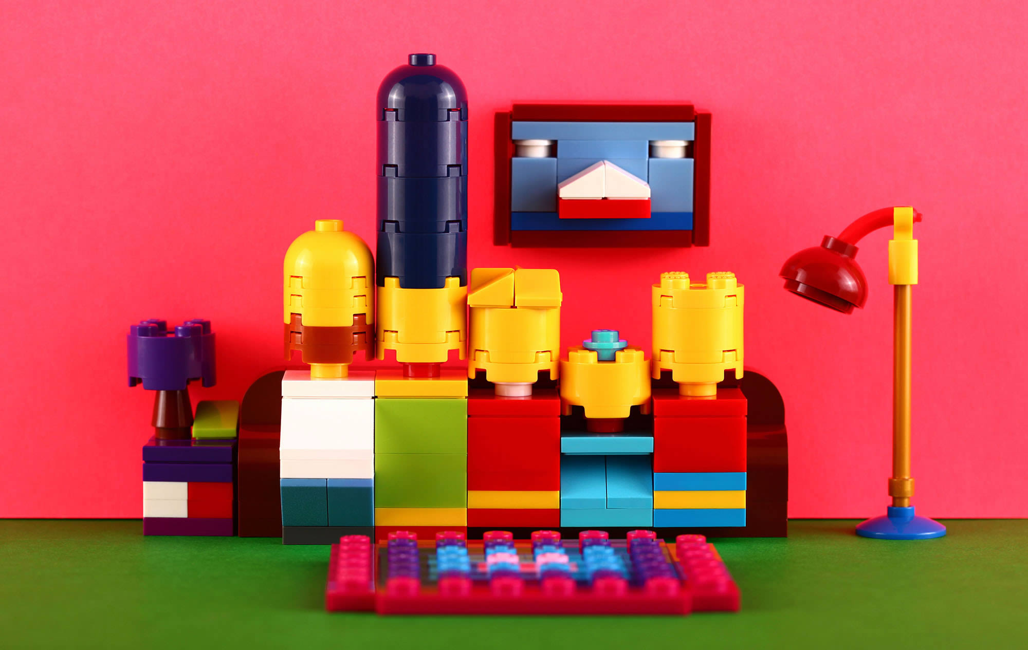 Cool Lego Creations by Kosmas Santosa