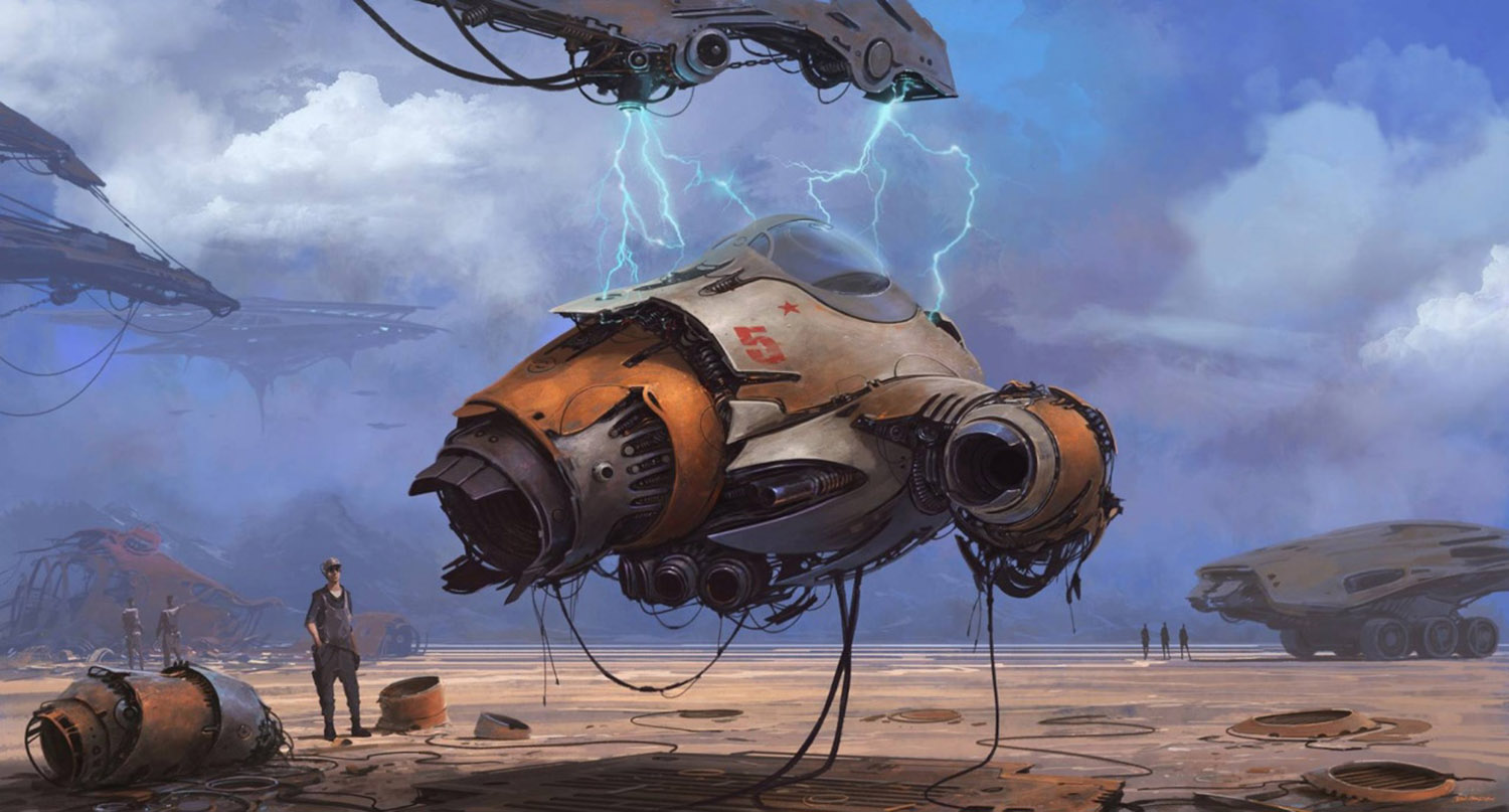 futuristic vehicle by alejandro burdisio