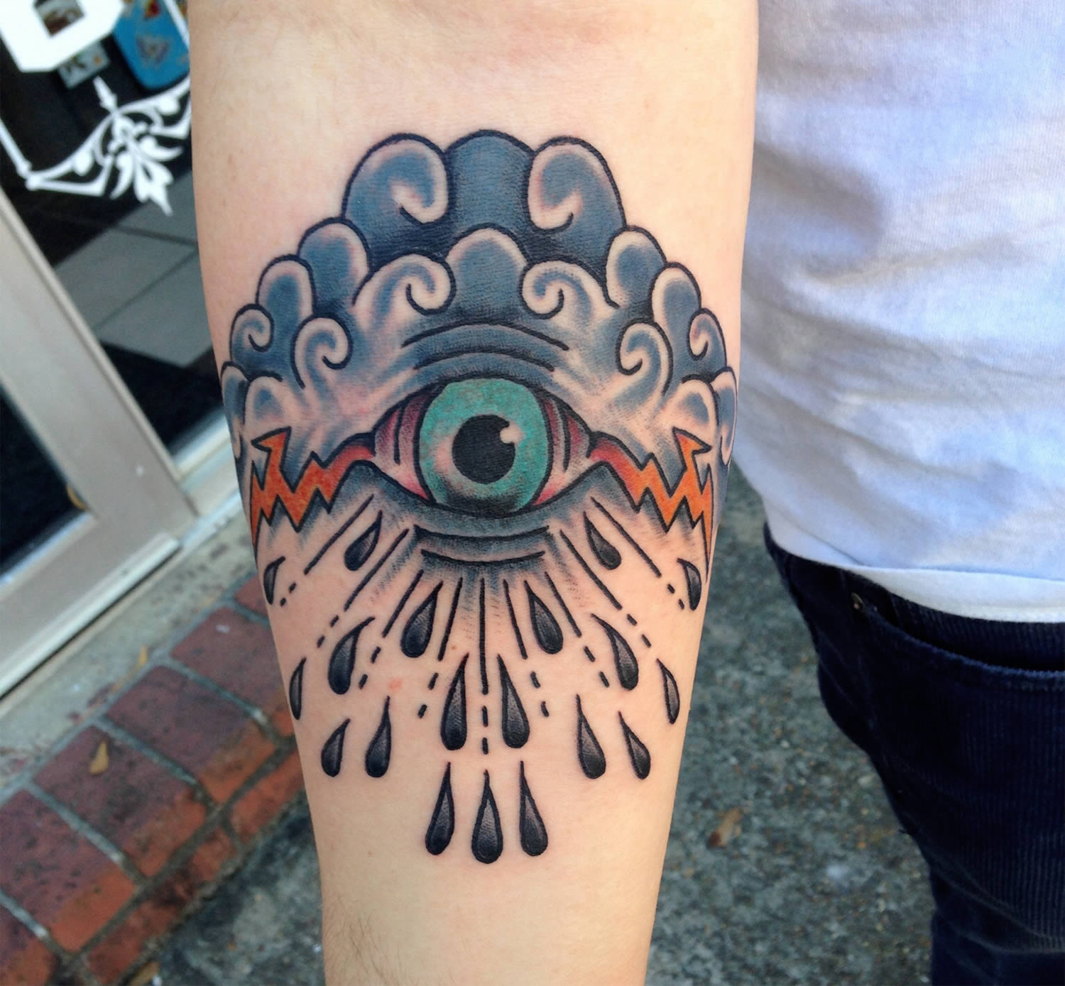 eye of god tattoo by david  j. wilson