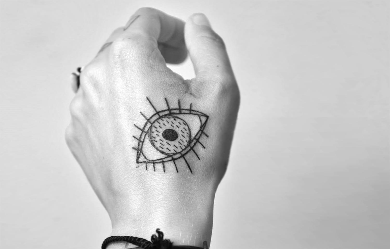 Miriam Frank tattoo