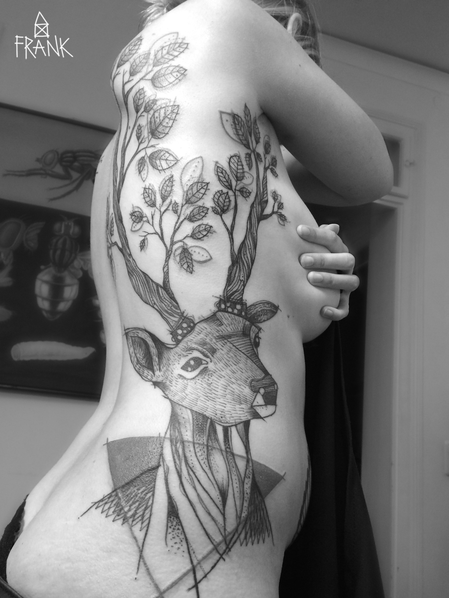 Miriam Frank tattoo