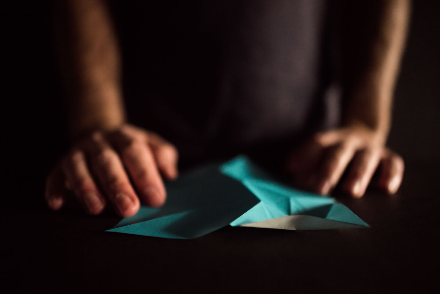 making of, origami