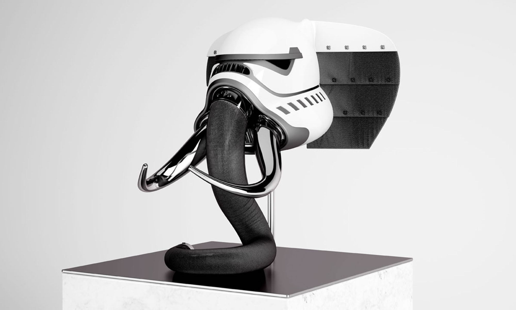 Blank William's New Helmet Series Fuses Stormtroopers with Wildlife