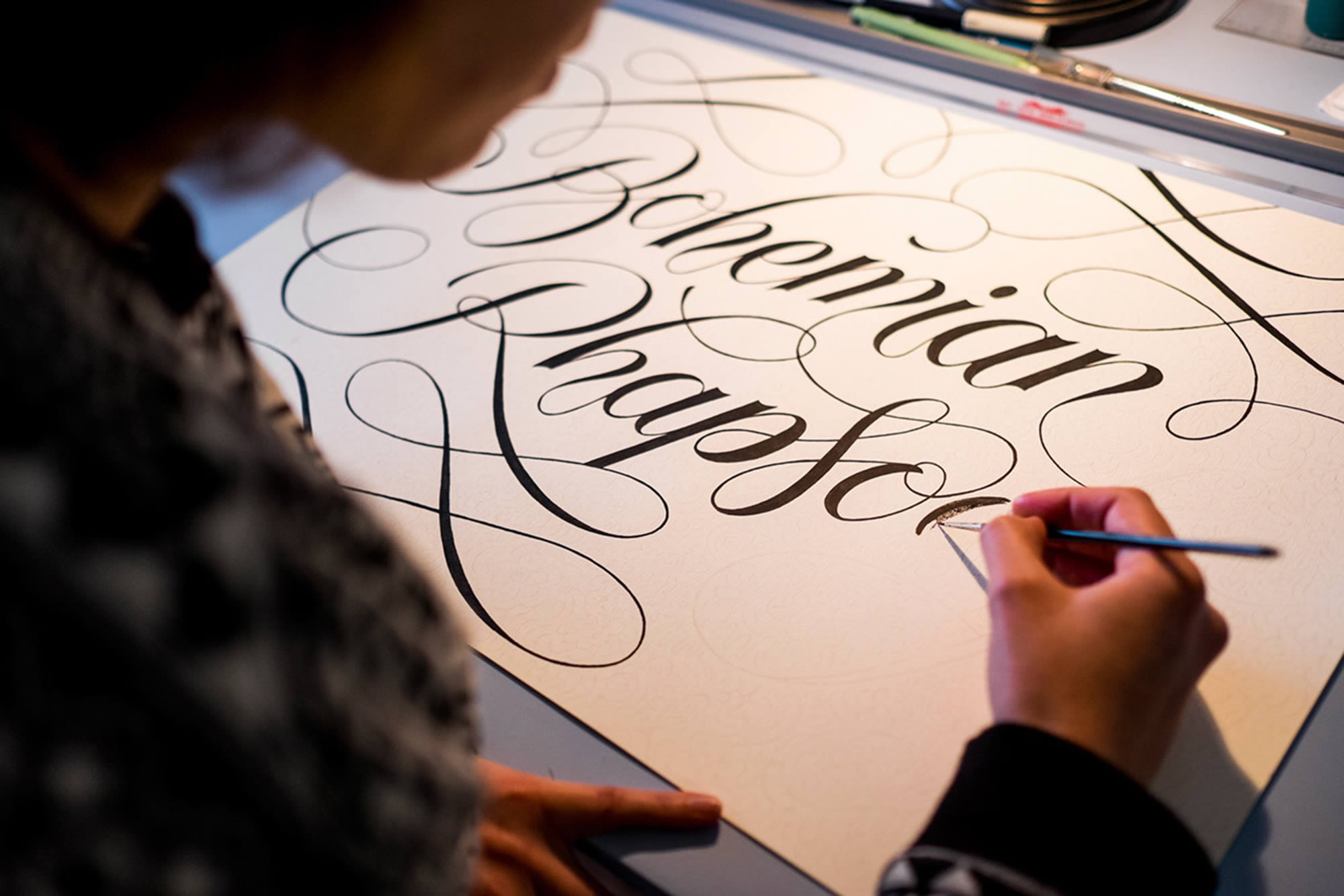 Cyla Costa's Elegant Lettering on Paper, City Streets, and Storefronts