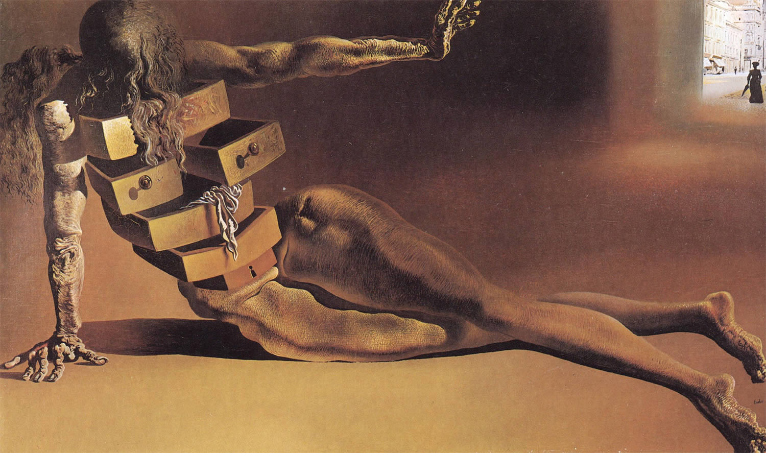 Anthropomorphic Chest of Drawers by dali