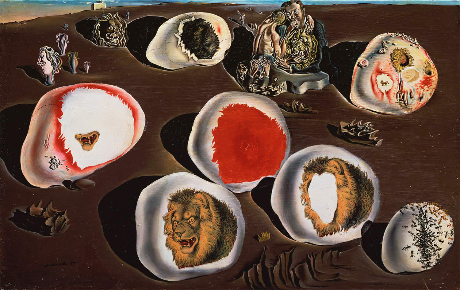 The Accommodations of Desire by salvador dali