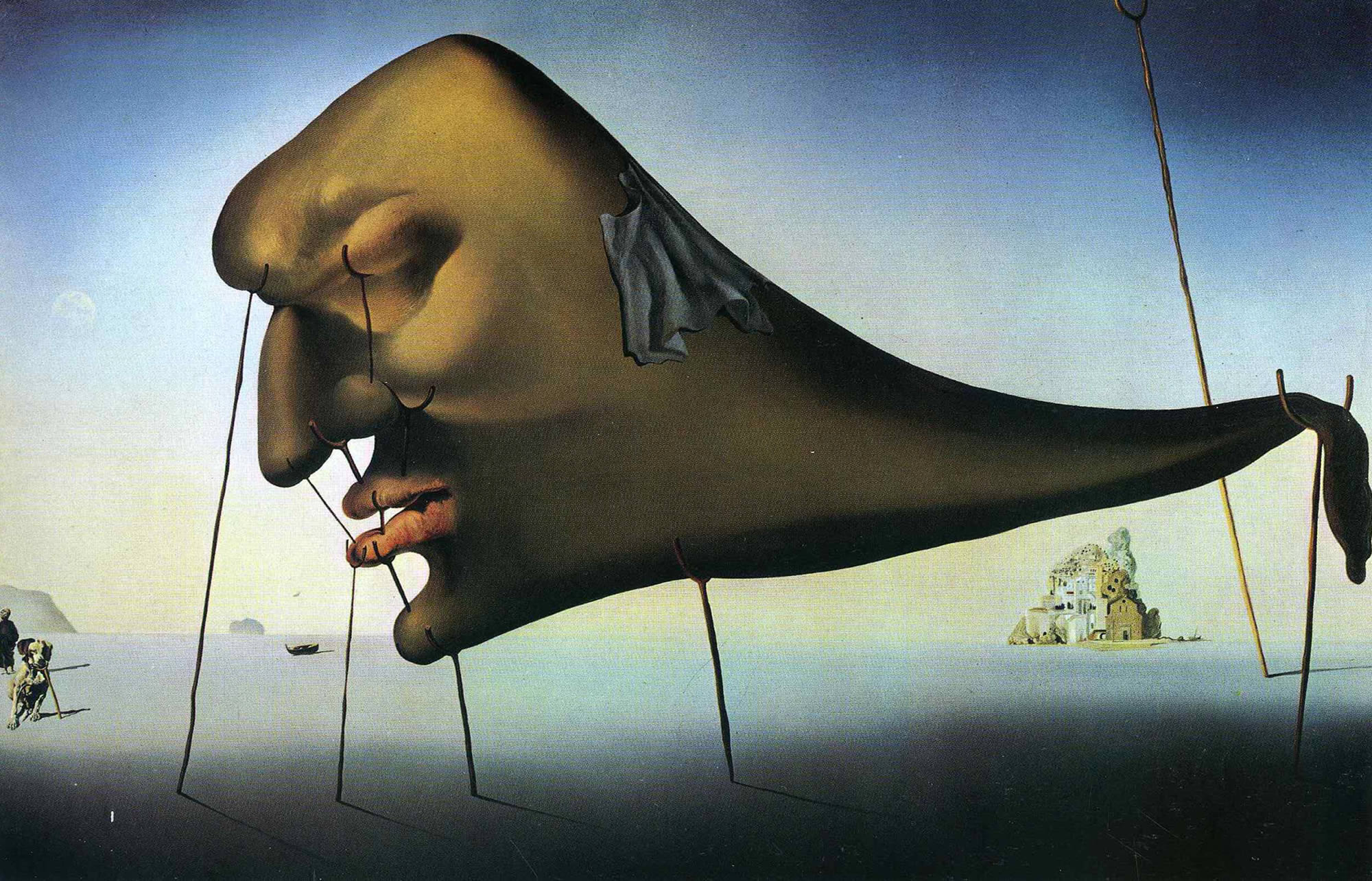 surrealism, dali painting