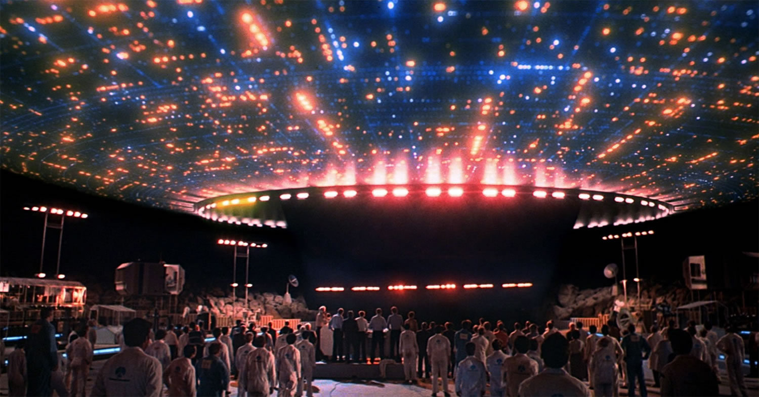 close encounters of the third kind, alienship