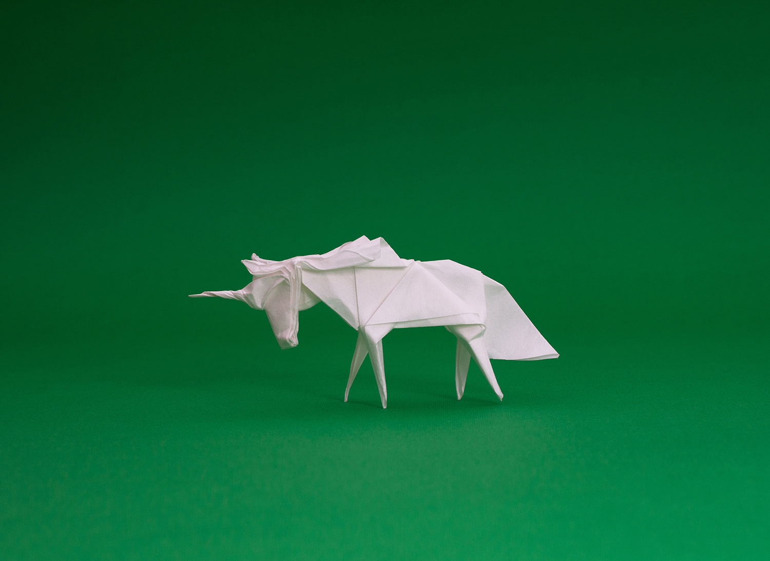 origami unicorn by ross symons