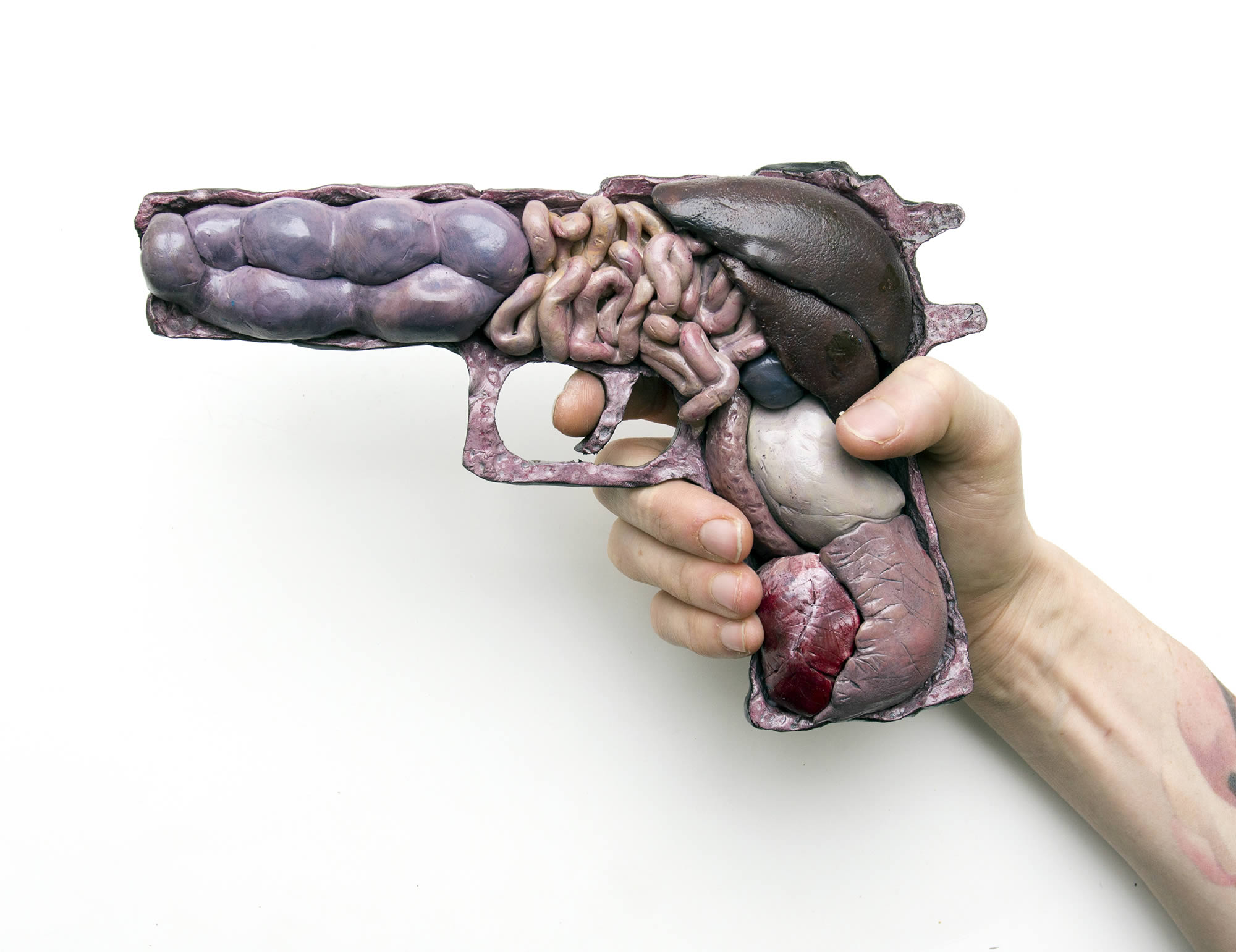 anatomy or war, gun by noah scalin