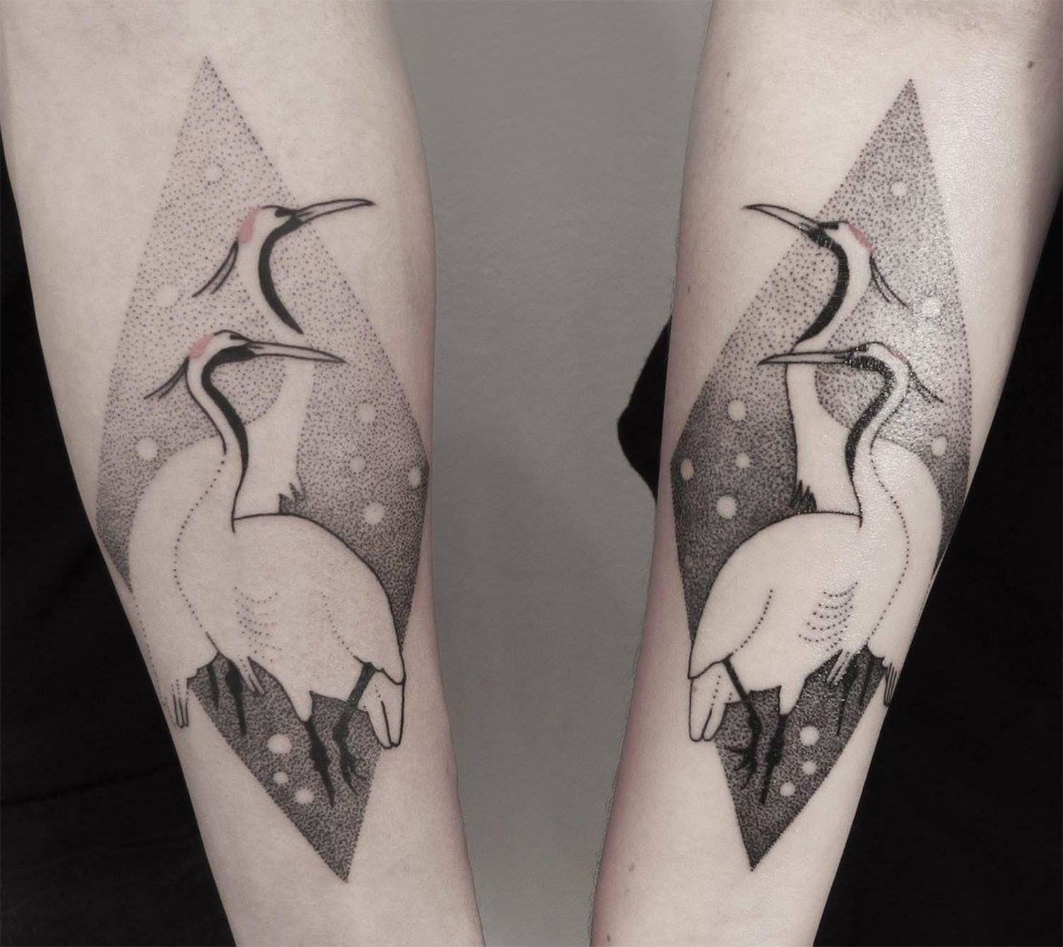 bird tattoo by axel esjmont
