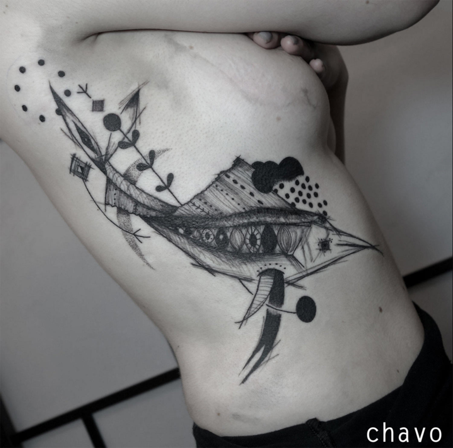 swordfish tattoo