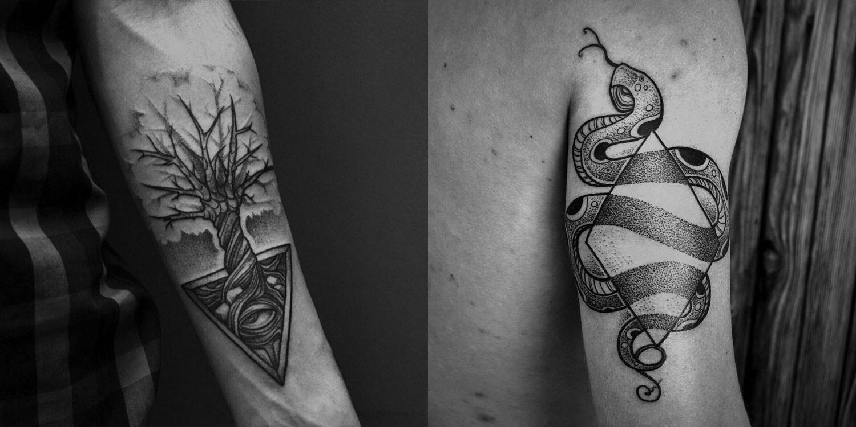 tattoos by Taras Shtanko