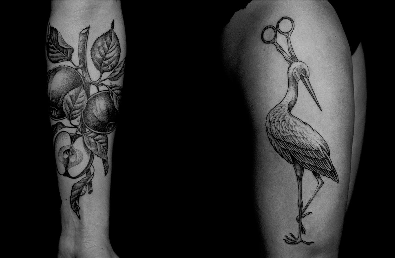 tattoos by Ilya Brezinski