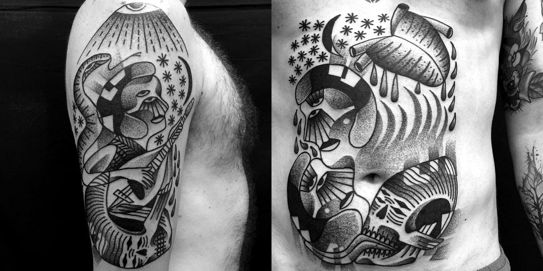 Tattoos by Jaya Suartika