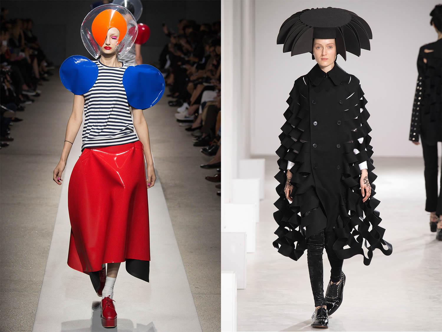 dresses 2015, fashion by Junya Watanabe
