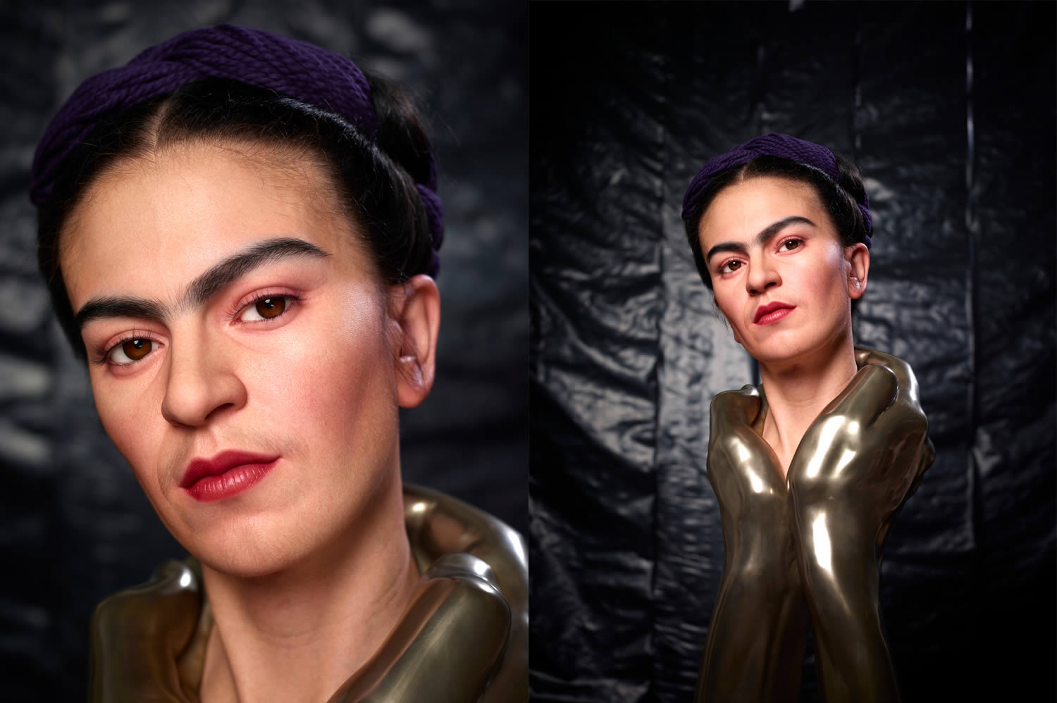 Frida Khalo sculptures, hyperrealism