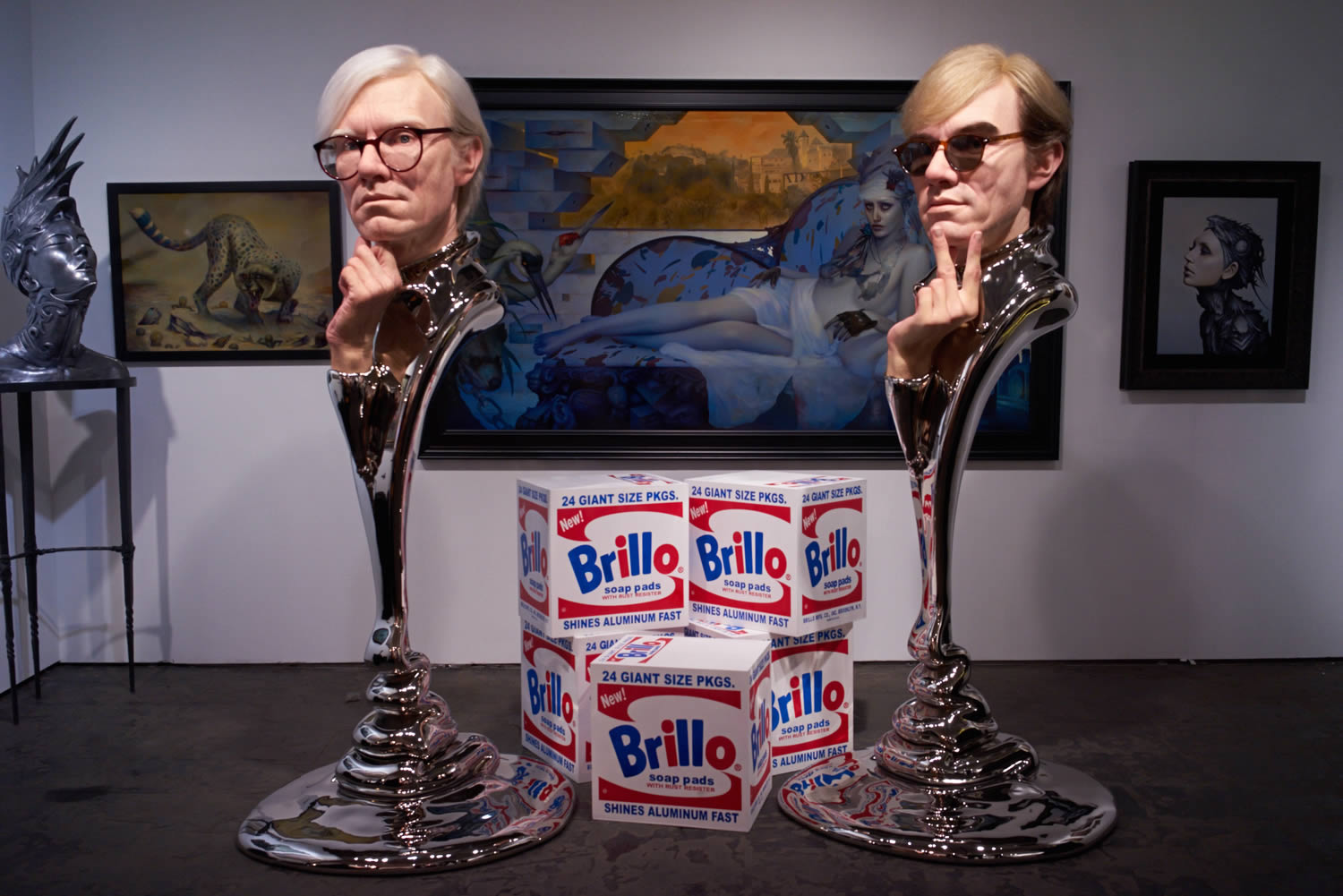 andy warhol sculptures in gallery