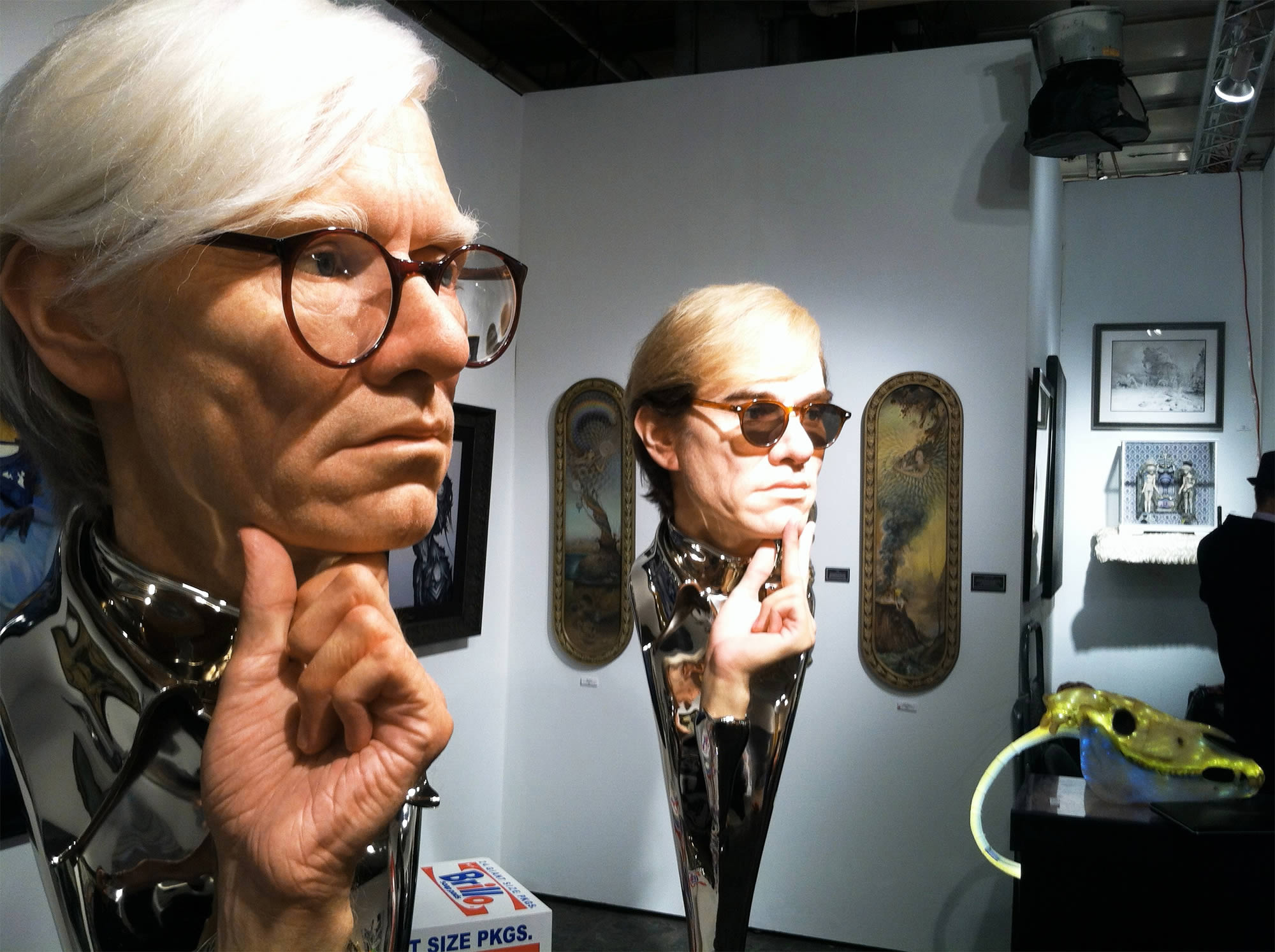 Andy warhol sculptures